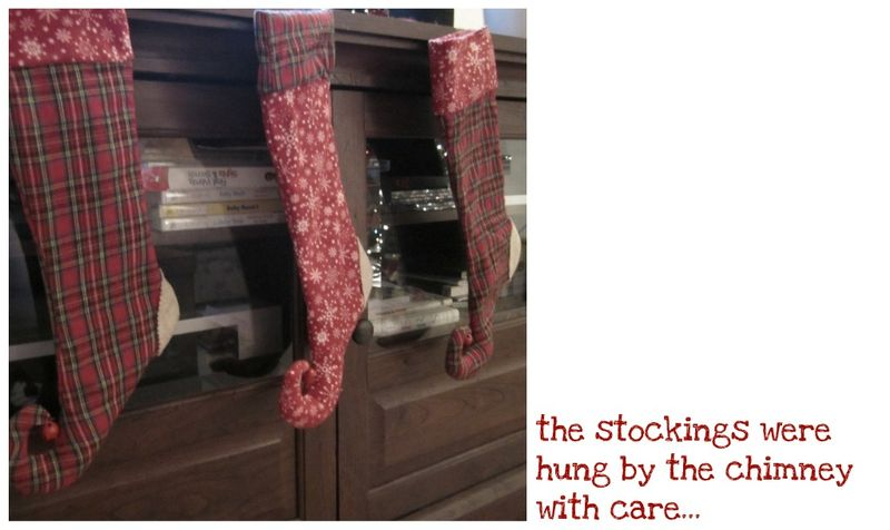 Stockings collage